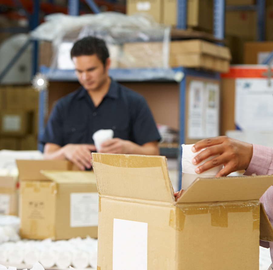 distribution and fulfilment services