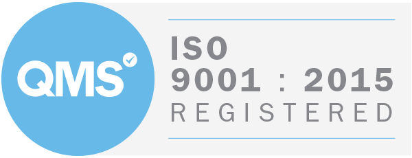 QMS ISO 9001:2015 Registered