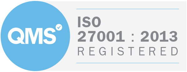 QMS ISO 27001:2013 Registered